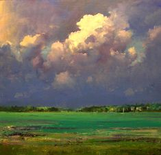 key largo, billow cloud, beauti sky, keys, art