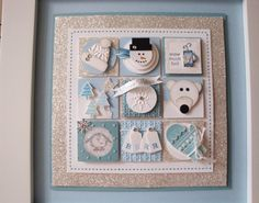 Bashful Blue, Baja Breeze, Whisper White, Silver Glimmer Paper; a multitude of punches, stamp sets, and various stuff!