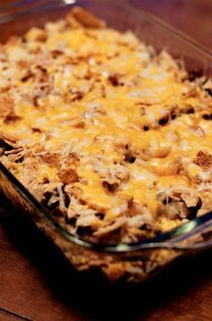 Mexican Casserole  I've been looking for a recipe like this for a long time