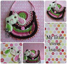 Ravelry: Bunny purse pattern by Vendula Maderska.  $5.30 for pattern 6/14.