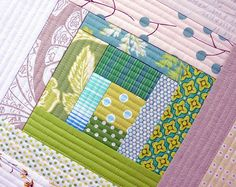 quilt as you go! tutorial Need to try. Did not understand mom when we talked about it earlier.