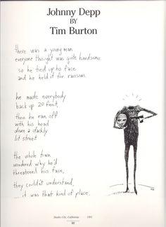 Johnny Depp by Tim Burton