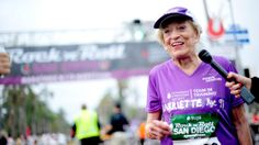 Impressive! 91-Year-Old Woman Breaks Marathon Record