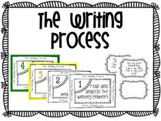 If your school uses Thinking Maps or Write from the Beginning and Beyond, this poster set is perfect for your class.  Included: 2 copies of the posters; one in color, one in black and white.  Explanations of each step as a reference when working.