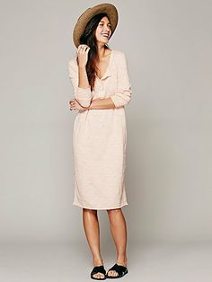 Free People Honey Bee Tee Dress
