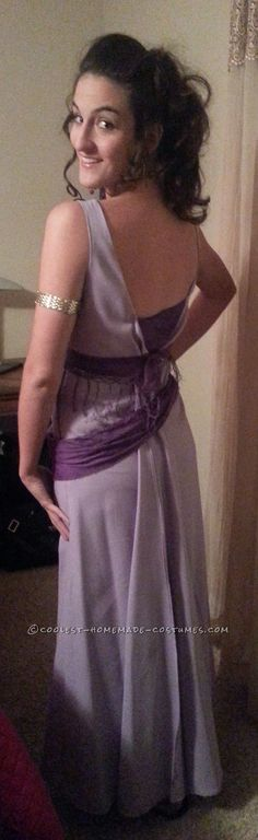 Homemade No-Sew Grecian Goddess Costume: Megara from Disney's Hercules... Coolest Halloween Costume Contest