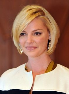 Katherine Heigl Hairstyle: Short Bob Cut