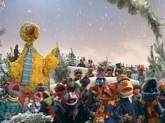 Christmas with the muppets: Watch out for that icy patch