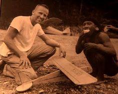 Nate Saint: friend of Jim Elliot and fellow-missionary to Ecuador