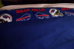 Buffalo Bill's blanket other side of strip at top of blanket