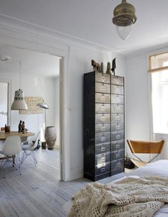 old file cabinet