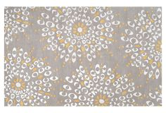 Contemporary Rugs: Oliver Rug, Gray/Ivory