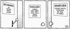 Psychology Funnies! There should be a Freud door too though! lol
