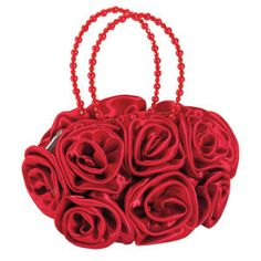Red Rose Purse - For Belle