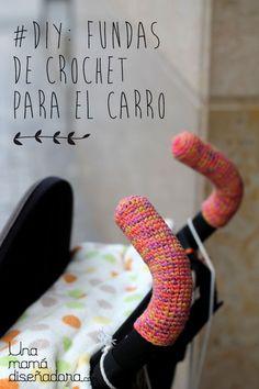 diy fundas de crochet para el carro de tu bebé