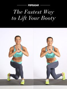 Let your backside feel the burn with this short and effective workout!