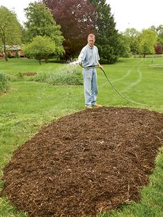 Easiest Way to Convert Lawn Into Garden.