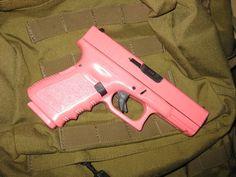 pink glock duracoat