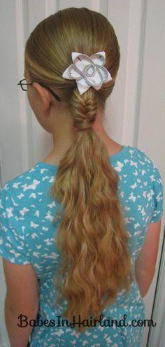 fishbone braid hairstyle