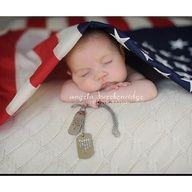 military newborn photo ideas