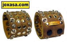 Distressed closure cuff @ www.joxasa.com