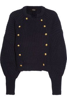 Tadley chunky-knit wool cardigan  by Isabel Marant