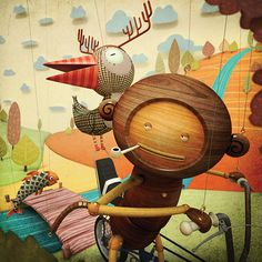 Promotional Artwork by Finger Industries Ltd , via Behance