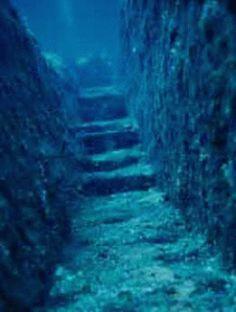 'Yonaguni Monument' under the sea off the coast of Japan.