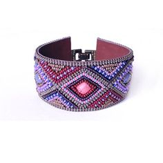 Beaded Festival Bracelet Plum | Accessory Foundry