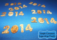 Simple Cinnamon Sugar Wrap Treats for the New Year