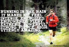 running-in-the-rain fit, motiv poster, healthi, exercis, inspir, motivational posters, running, rain, live