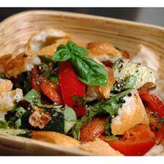 food recip, delici food, foodi pic, food yum, breads, midsumm italian, yummi food, salads, italian bread salad