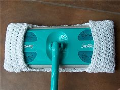 These are EASY to crochet -- make a handful and no need to buy swiffer cloths any more.