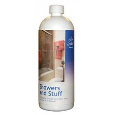 Only THE best ever stuff for cleaning hard water/lime/rust deposits in the sink and tub.