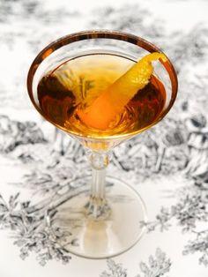 The Martinez: Genever Gin + Sweet Vermouth + Maraschino Liqueur + Orange Bitters