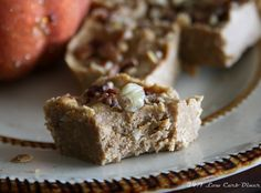 24/7 Low Carb Diner: Pumpkin Coconut Fudge and Home Made Coconut Butter