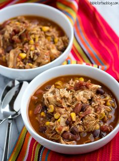 Crockpot Chicken Taco Chili ...