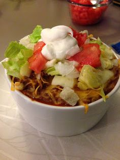 Perfect! I love Mexican and looking for low or no amylose...  Lyme Green: No Amylose Taco Casserole