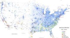 This Map Of Race In America Is Pretty Freaking Awesome - BuzzFeed Mobile