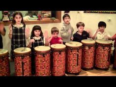 3rd Grade Music - Drumming to Tideo (Fairmont Anaheim Hills Campus)