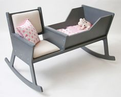Rockid - a rocking chair and cradle in one!