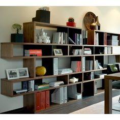 Grand meuble rangement pour salon on pinterest salons boconcept and mezzanine - Petit espace ontwerp ...