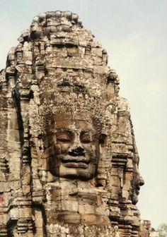 Angkor Thom, near Angkor Wat and Siem Reap, Angkor, Cambodia.