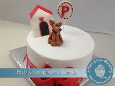 little puppy cake Cake by claudiaegb