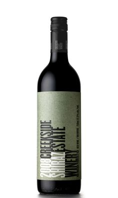 Creekside Estate Winery - 2008 Shiraz - This was my first introduction to Creekside.