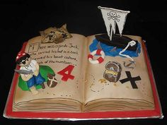 Pirate Jack's birthday cake by christie's cakes, via Flickr