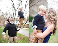 cute father/son and mother/son photos