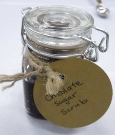 chocolate spa ideas + chocolate sugar scrub recipe