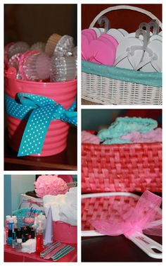 Girly Spa Party. For my little girls someday.