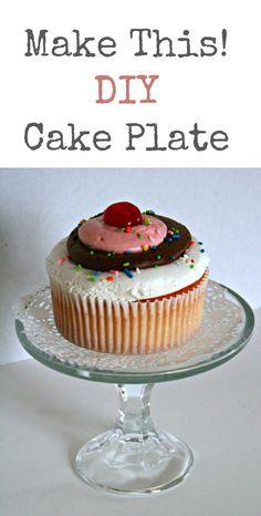 Make This! DIY Cake Plate